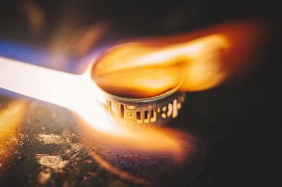 Zlatá mince - symbolický dar