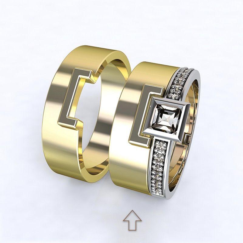 Dámský snubní prsten Marco žluté zlato 14kt