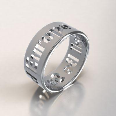 Europe Shall Be Saved AG925/1000 stříbro
